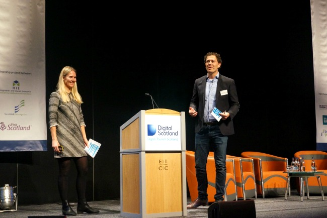 Co-host of the Digital Tourism Schotland Conference 2015